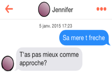 PREMIER MESSAGE TINDER