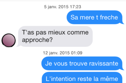 message tinder